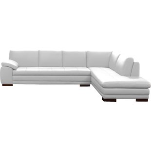 Modern & Contemporary White Italian Leather Sofas | AllModern