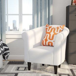 Make your living room inviting with white living room chairs ...