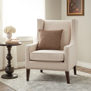 Buy Wingback Chairs, Off-White Living Room Chairs Online at
