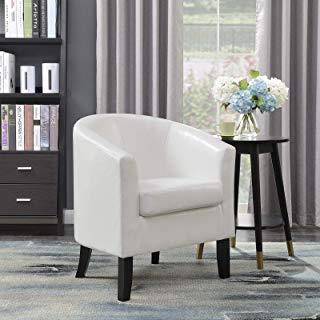 Amazon.com: White - Chairs / Living Room Furniture: Home & Kitchen