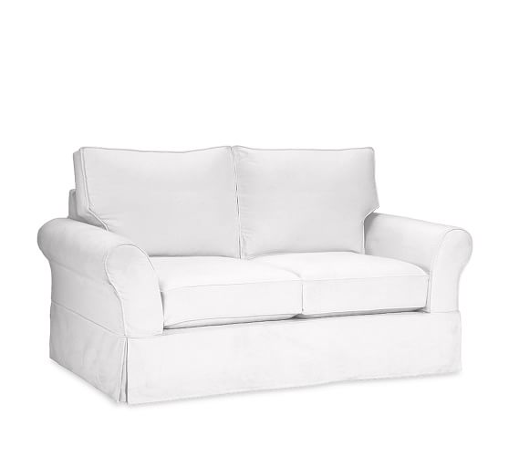 PB Comfort Roll Arm Slipcovered Sofa | Pottery Barn