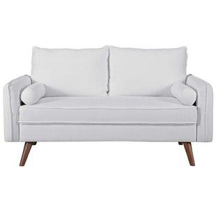 White Loveseats You'll Love | Wayfair