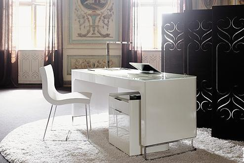 White Home Office Furniture - Ideas Home Design