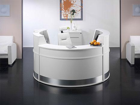 Modern White Office Furniture 18449 | Interior Design