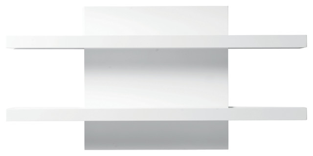 Cargo Wall Shelf, Walnut - Contemporary - Display And Wall Shelves