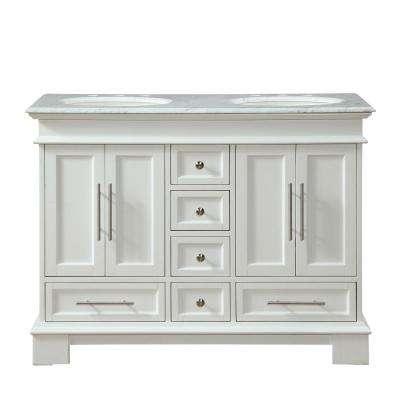 48 Inch Vanities - White - Bathroom Vanities - Bath - The Home Depot