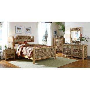 Wicker & Rattan Bedroom Sets You'll Love | Wayfair
