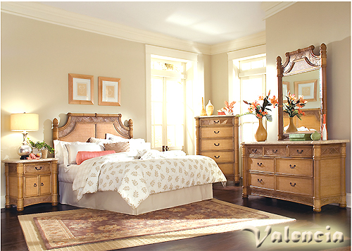 Get a unique look in your   bedroom with wicker bedroom furniture