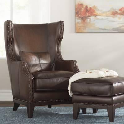 Greyleigh Rena Wingback Chair & Reviews | Wayfair