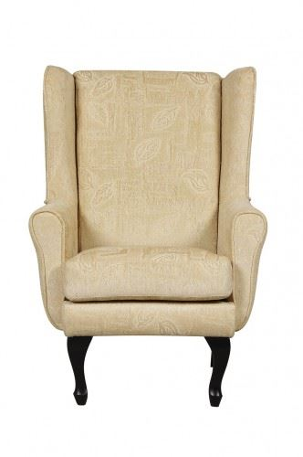 Traditional Chiltern Orthopaedic High Back Fire Side Chair Winged