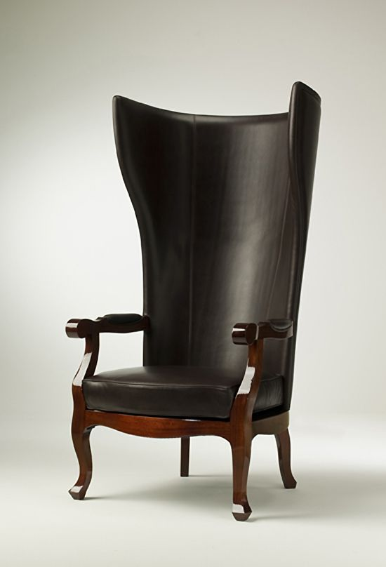 Armchairs - HIGH BACK WING ARMCHAIR DESIGN XVV from