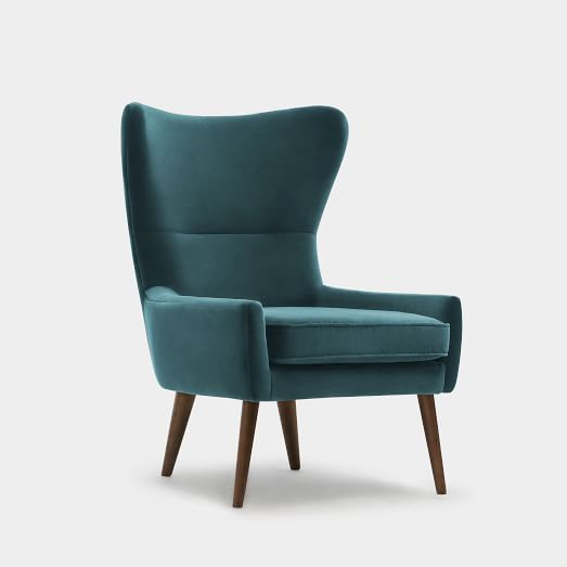 Guide to buying a comfortable   winged armchair
