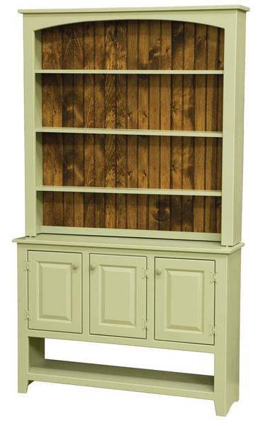 Merits and demerits of   built-in wood hutch tops