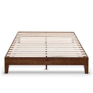 Wooden Pallet Bed Frame   Wayfair