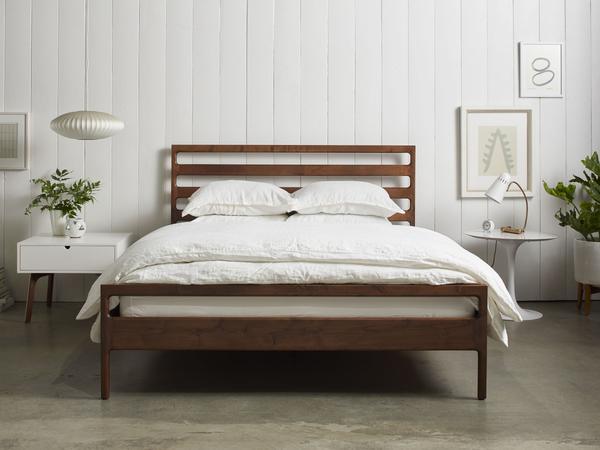 Handmade Wood Bed Frame u2013 Parachute