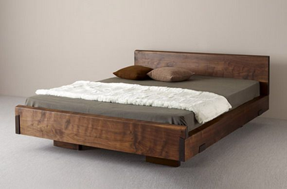 Natural Wood Beds by Ign. Design. - rustic knotty wood | Home Stuff
