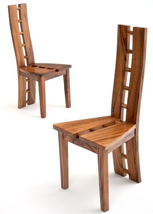 Contemporary Chair, Modern Side Chair, Modern Wooden Dining Chair