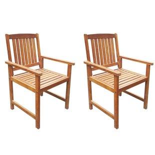 Wooden Garden Chairs | Wayfair.co.uk