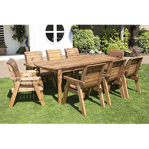 Be close to the nature by   using wooden garden furniture
