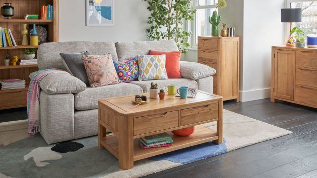 Living Room Furniture | Solid Oak Living Room Sets | Oak Furniture Land