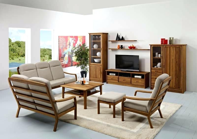 Wood Living Room Set Solid Living Room Furniture Home Furniture
