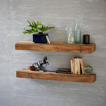 How to derive more from the   designing and placement of wooden shelves?