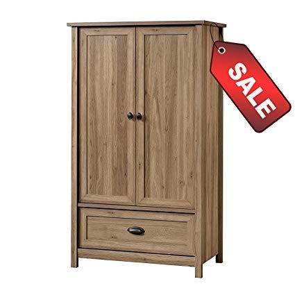 Amazon.com: EFD Wooden Wardrobe Armoire Cabinet Closet Modern With