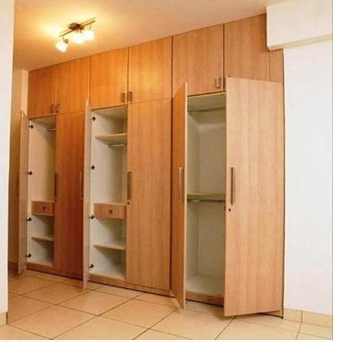 Wood Brown Wooden Wardrobe, Rs 1000 /square feet, Subak Engineers