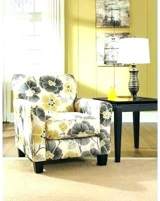 decoration: Grey And Yellow Chair