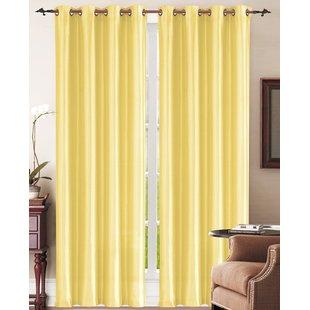 Pale Yellow Curtains | Wayfair