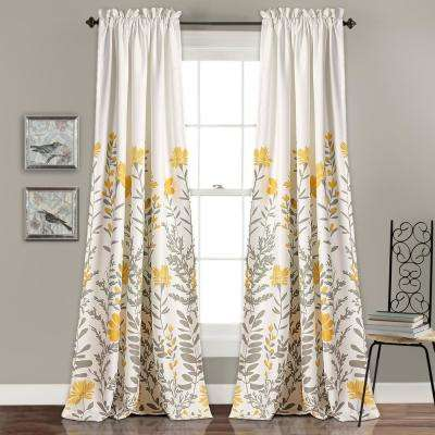 Yellow - Curtains & Drapes - Window Treatments - The Home Depot