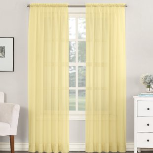 Yellow curtains: the right   choice for your house