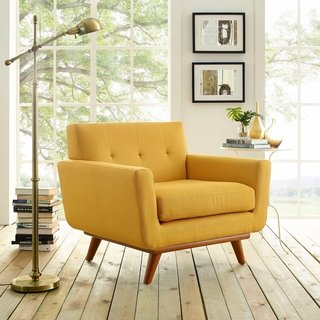. Yellow living room chairs for a fresh look to your living room