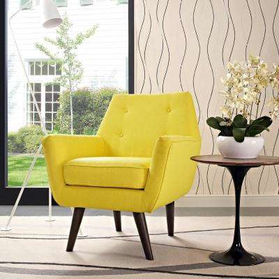 Yellow - Chairs - Living Room Furniture - The Home Depot