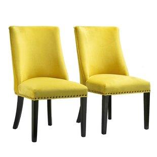 Yellow Upholstered Chair | Wayfair