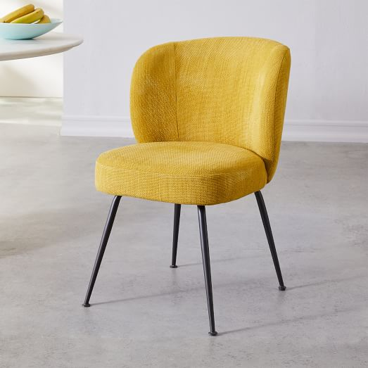 Purchase of the yellow   upholstered chair