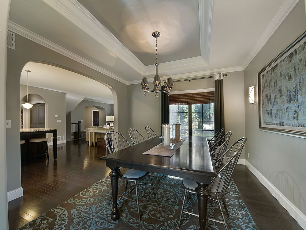 Park Hill Renovation by Lowery Design Group What is the standard ceiling height for a house?  (Replied)
