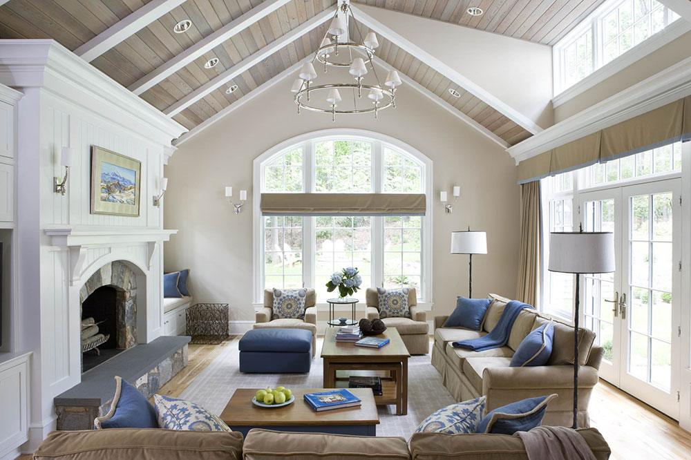 MCLEAN-by-celia-welch-interiors What is the standard ceiling height for a house?  (Replied)
