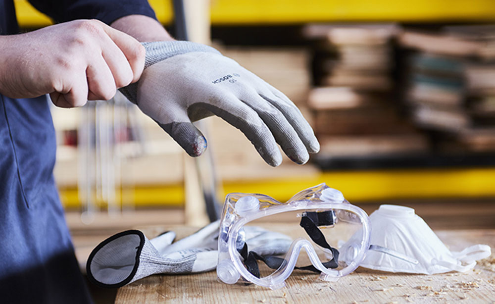 Safety glasses How to structure drywall so that it looks fantastic