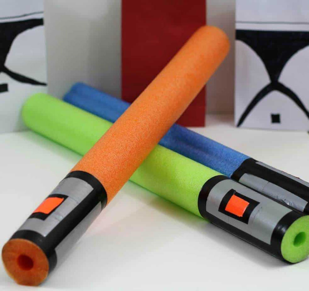 A real space war pool noodle hacks to make your life easier