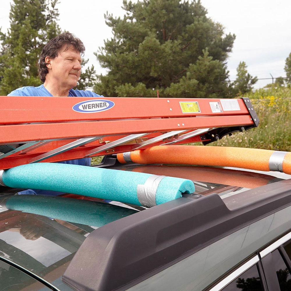 Transporting furniture safely Pool noodle hacks make your life easier