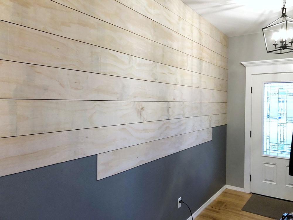 shiplap3 Should you lay shiplap over drywall?