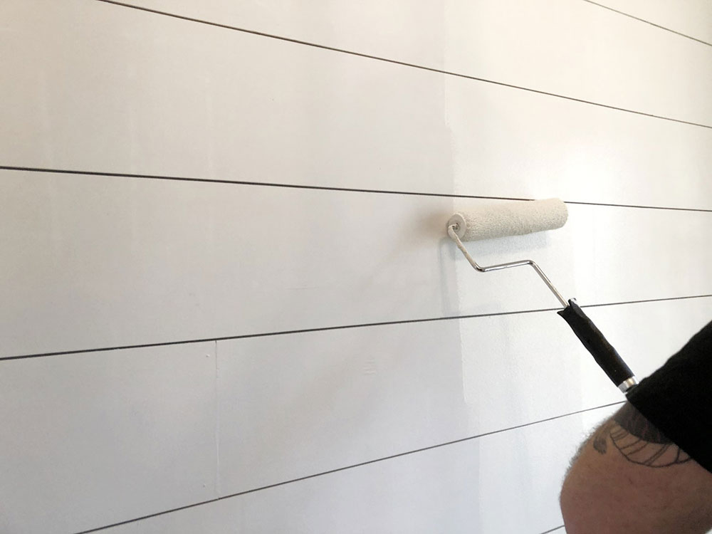 Color Should you lay Shiplap over drywall?