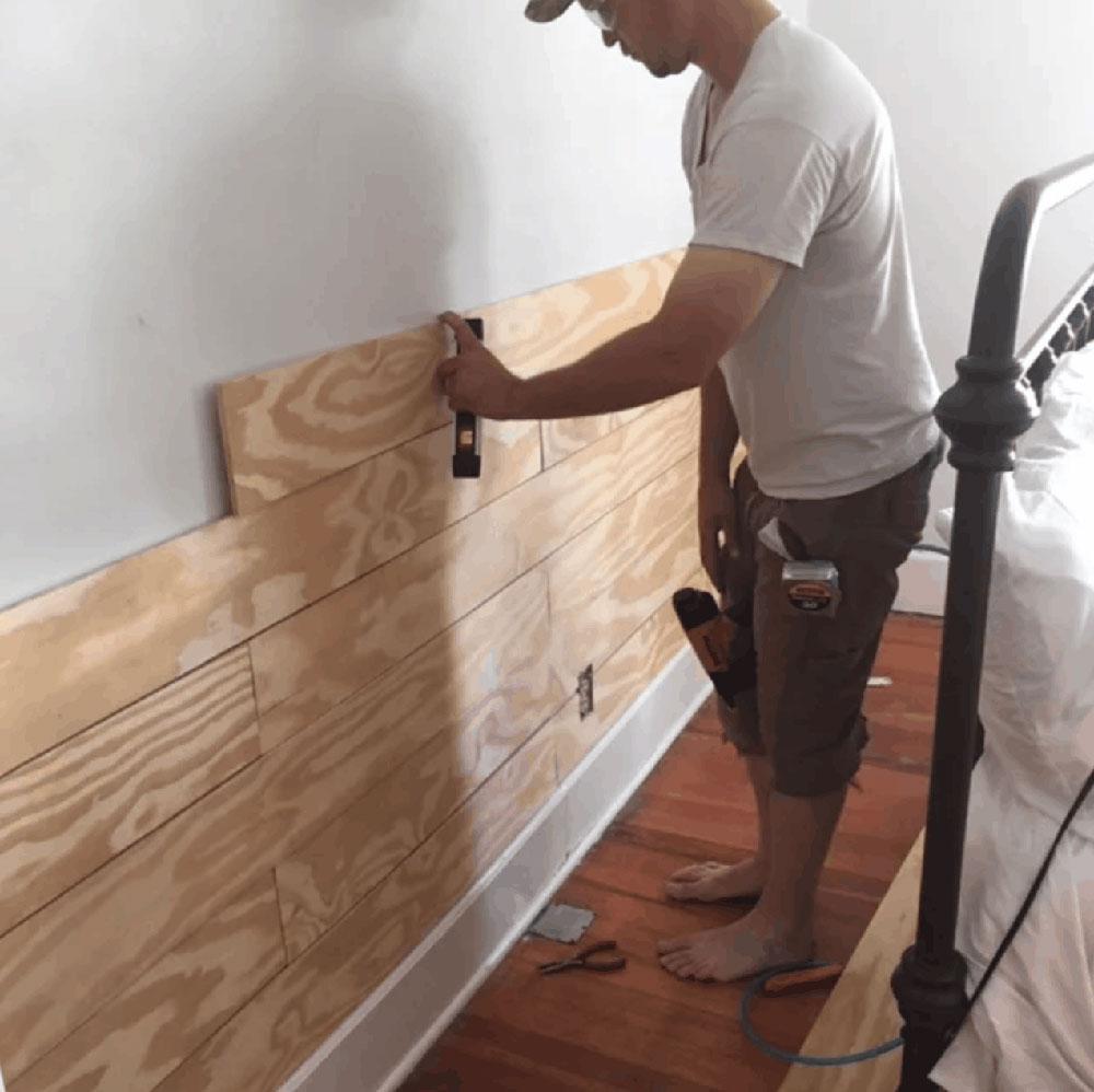 ship1 Should you lay shiplap over drywall?