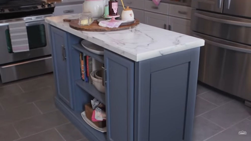 How-To-Make-Stock Cabinets How To Build A Kitchen Island (17 DIY Kitchen Island Plans)