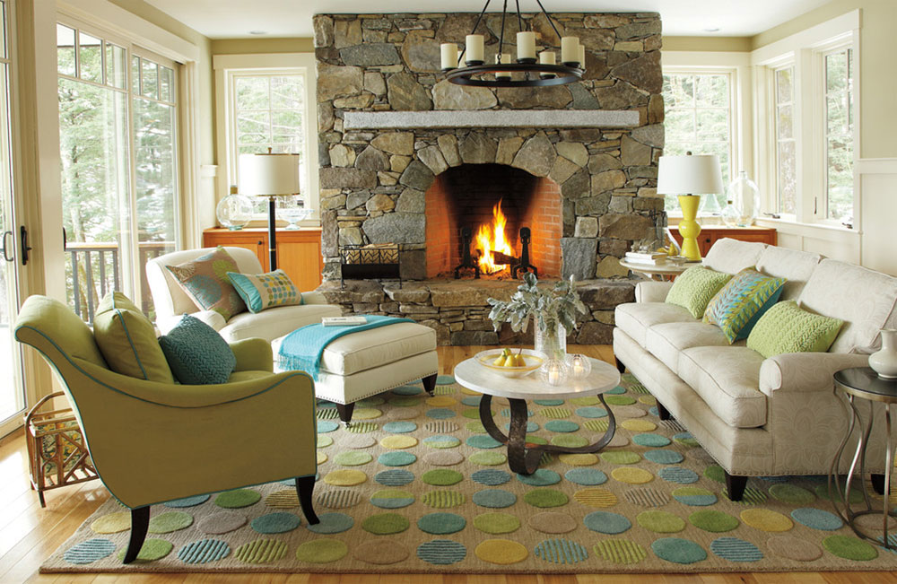 Lounge-Lake-Living-Room-by-Company-C How to put a rug in a living room so the place looks fantastic