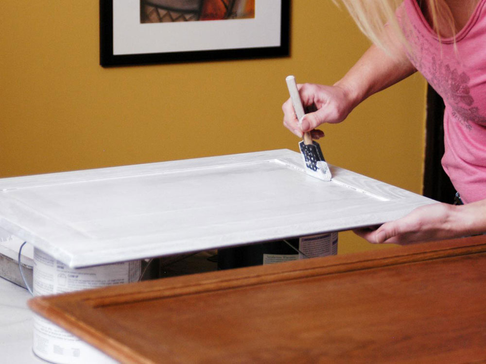 primer-2 painting kitchen cabinets from laminate (brief instructions)