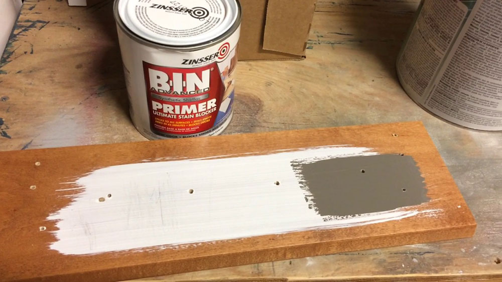 primer1 Painting kitchen cabinets from laminate (brief instructions)
