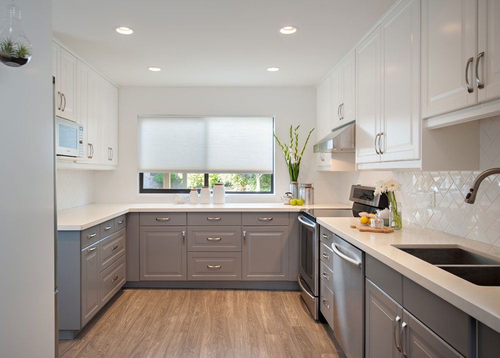 Steveston Townhouse by the Spotted Frog Designs How to Paint Laminate Kitchen Cabinets (A Quick Start Guide)