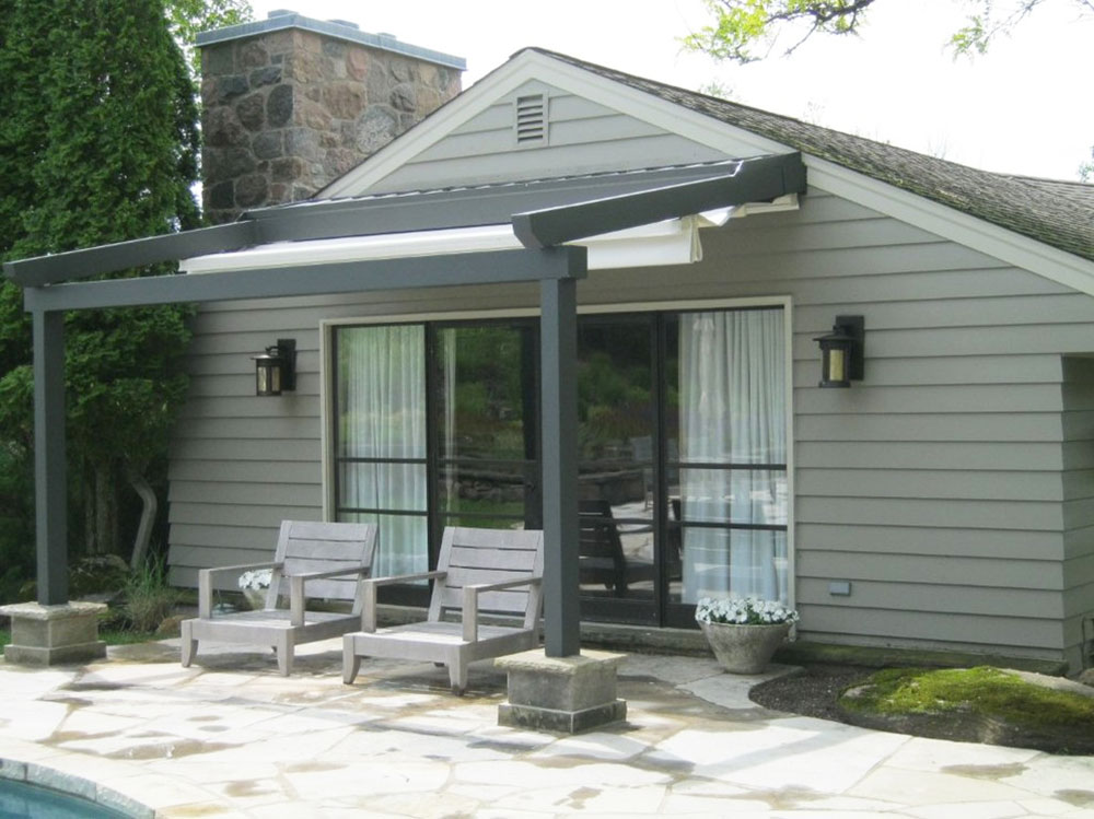 Private Home-Toronto-Canada-from-RetractableAwnings.com-Inc.  The only guide to painting aluminum panels you need